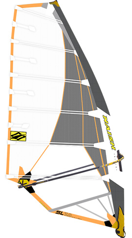 Slalom/Race Windsurfing Sail