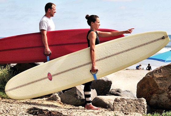 Rail Grabber: from the iconic surf-inventor Linda Benson