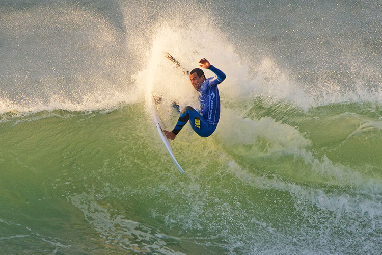 Raoni Monteiro: out for 20 months | Photo: Rip Curl/Robertson