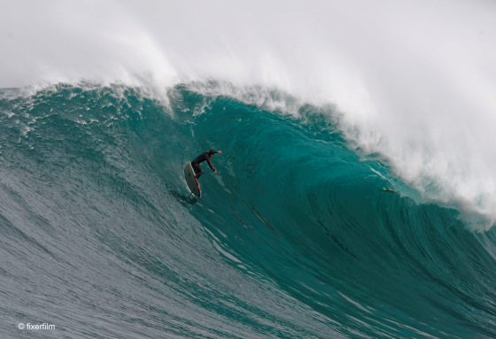 Big wave surfing: not for babies