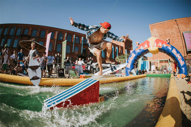 Red Bull Skim It: the largest skimboarding event of its kind in Europe