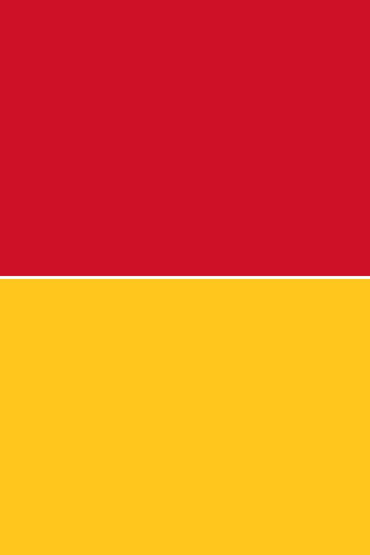 Red Over YellowFlag