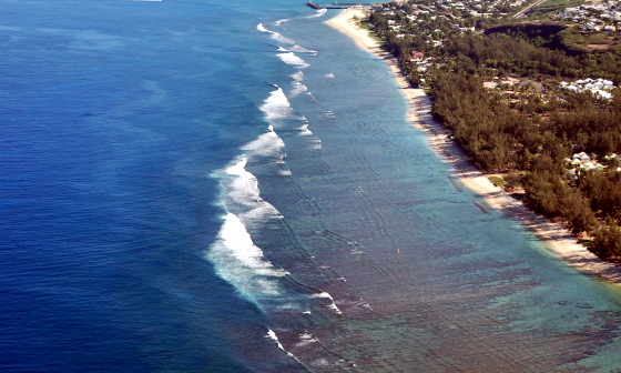 Reunion Island: waves and plenty of