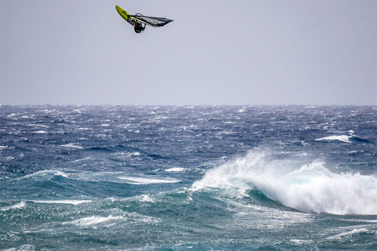 Ricardo Campello: he nearly landed a triple loop | Photo: Campello