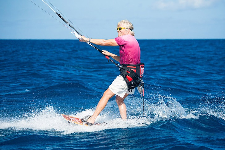 Richard Branson: will he compete in the PKRA World Tour? | Photo: Richard Branson at Google+