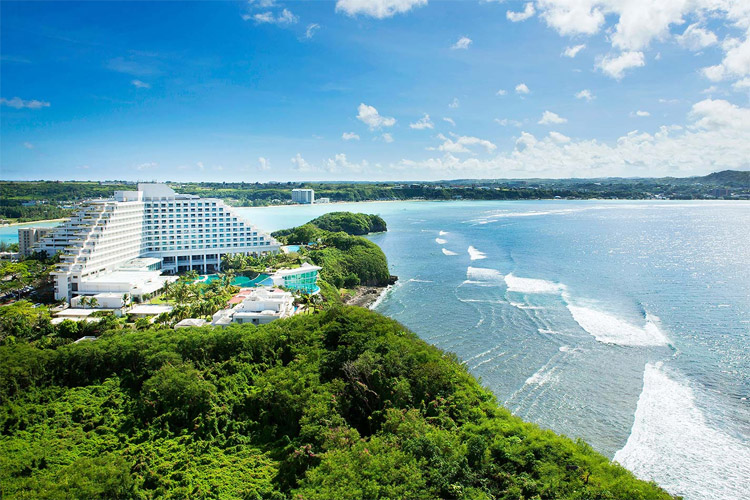 Rick's Reef, Guam: an expert-only reef break | Photo: Sheraton Laguna Guam Resort