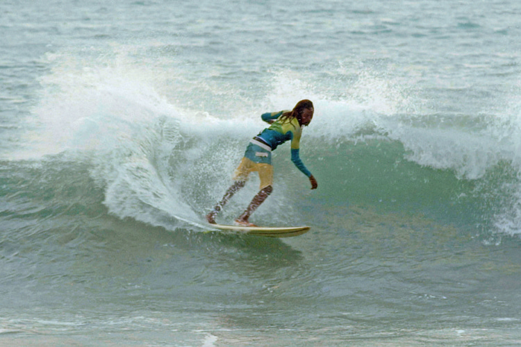 Reggae: music is an important part of every Jamaican surfer's life