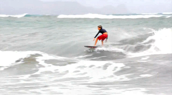 Ridge Lenny: bodyboarding is for getting up