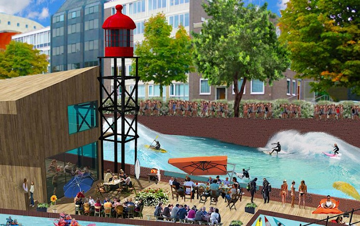 Surf's up in Rotterdam by 2015