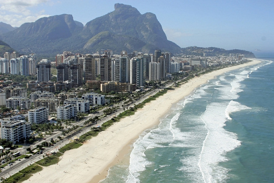 Rio de Janeiro: perfect for windsurfers and kiteboarders