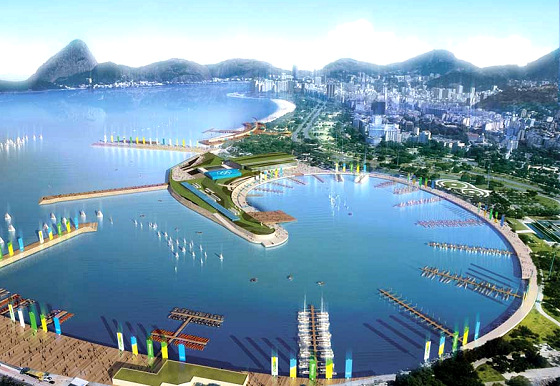 Guanabara Bay: RS:X windsurfers will have a huge regatta field