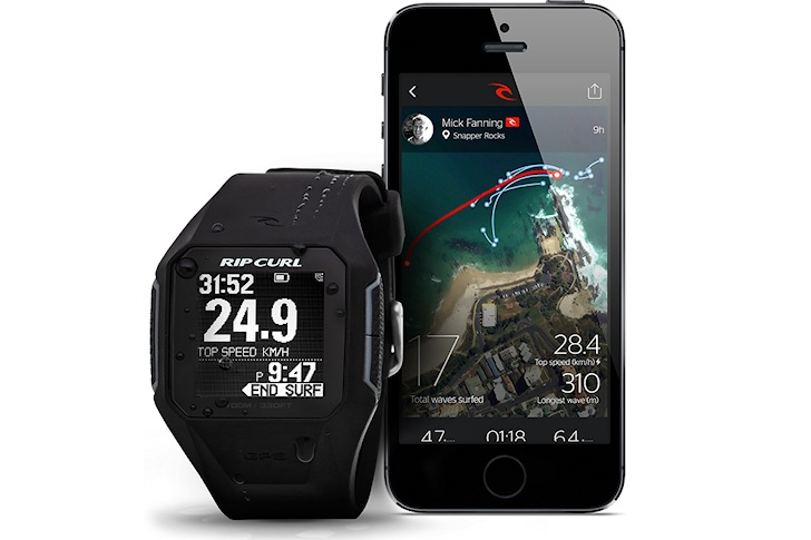 Rip Curl Search GPS: measure speed and distance