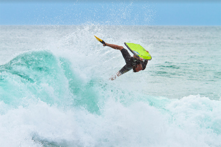 Rob Barber: the director of Bodyboard Holidays is an accomplished rider