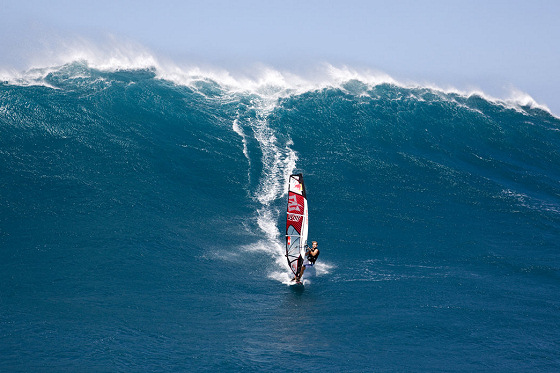 Robby Naish: big wave windsurfing pionner