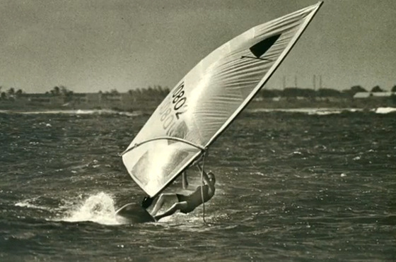 Robby Naish: he invented foot straps for the windsurfer
