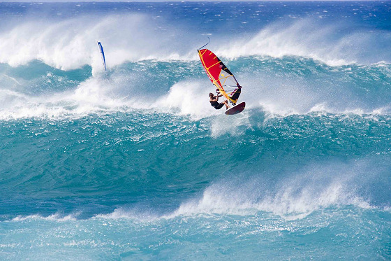 Robby Naish: king of wave windsurfing