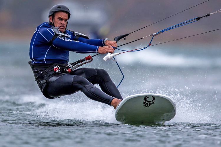 Rob Douglas: when speed sailing is a war | Photo: Mike Petrikov
