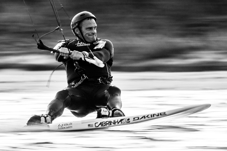 Rob Douglas: one of the fastest kiteboarders in the world | Photo: NASSI