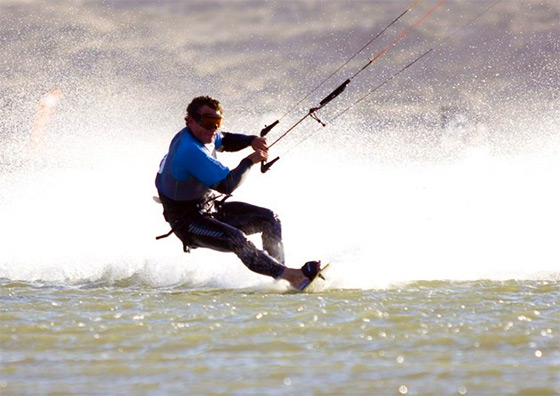 Rob Douglas: the kitesurfing express