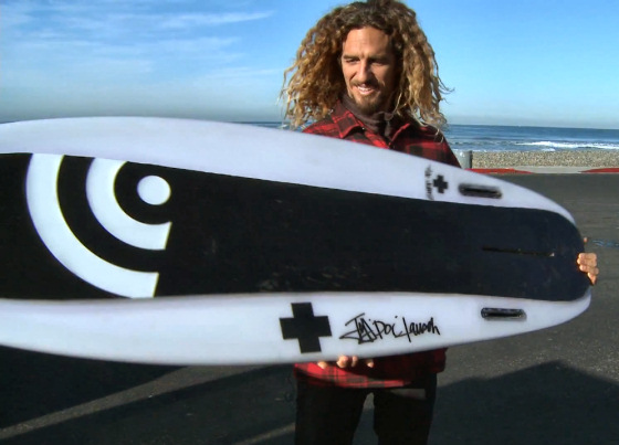 Rob Machado: is it a surfboard or a snowboard?