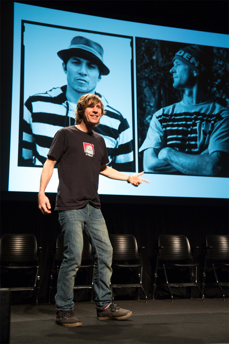 Rodney Mullen: a popular public speaker and innovation consultant   Photo: PopTech