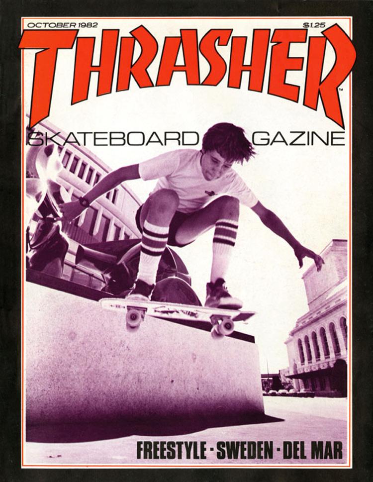 Rodney Mullen: landing the cover of Thrasher magazine in October 1982