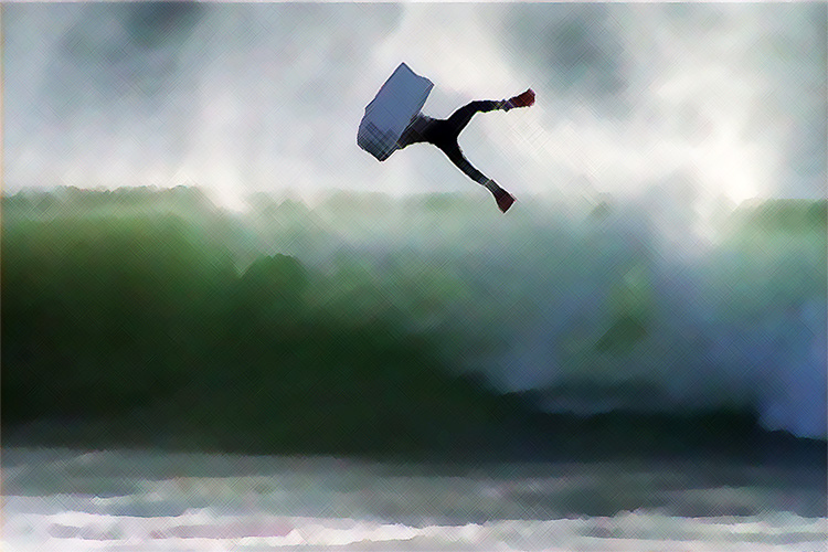 Roots: Portugal's first bodyboarding movie saw the light of day in 2001