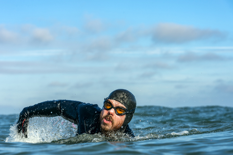 Ross Edgley completes the Great British Swim