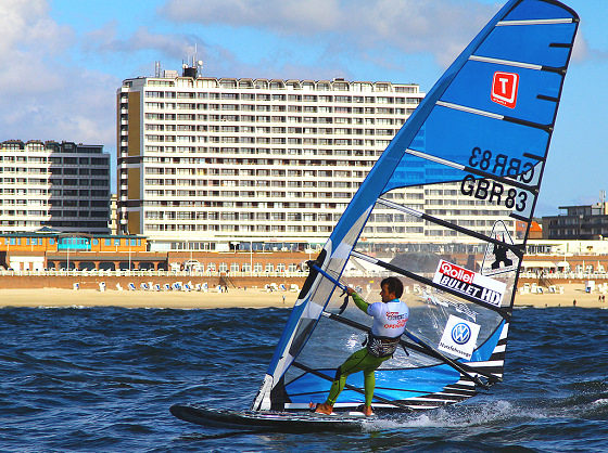 Ross Williams: 2012 Formula Windsurfing champion