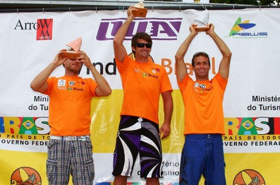 Ross Williams wins the 2009 Sao Paulo Formula Windsurfing Grand Prix
