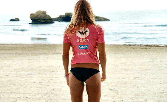 Roxy Pro Biarritz: provocative or trivial?