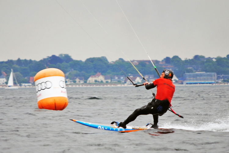 Rod Rodwald: faster than everyone else at Kieler Woche | Photo: Kieler Woche