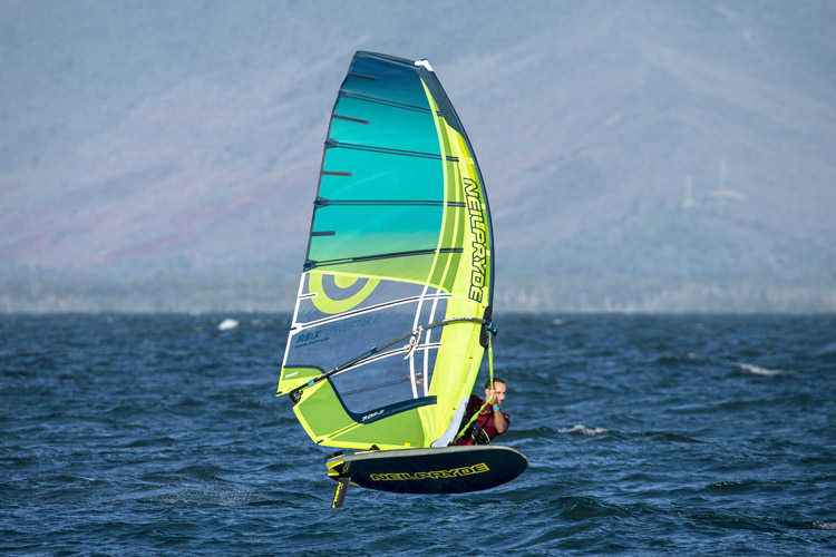RS:Convertible: the new windsurfing class by NeilPryde | Photo: EyeFly Pacific