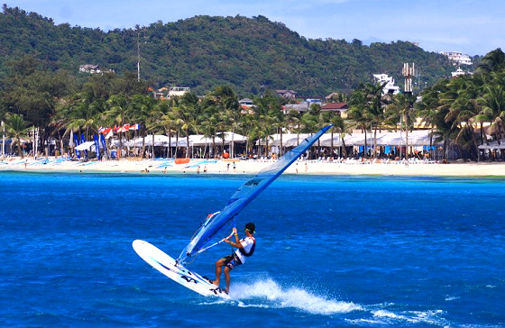 Boracay RS:One World Championships: windsurfing in holiday mode