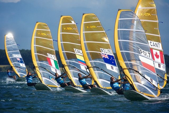RS:X Asian Championships: tight as ever