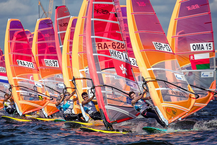 RS:X: the windsurfing class will make its last Olympic appearance in Tokyo 2020 | Photo: RS:X
