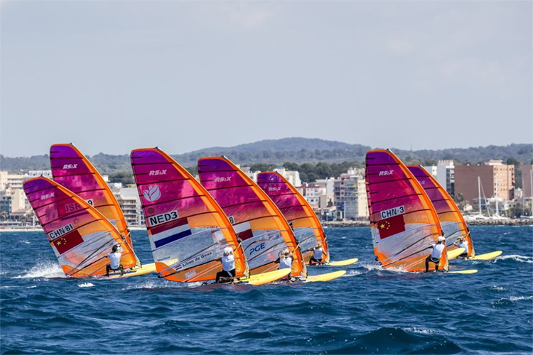 2019 RS:X Europeans: tight races in Mallorca, Spain | Photo: RS:X