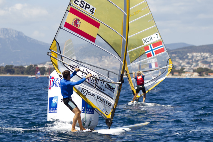 Sailing World Cup Hyères 2016: the Olympic Games are close | Photo: Renedo/World Sailing
