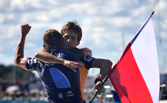 Piotr Myszka: dramatic and historic windsurfing victory