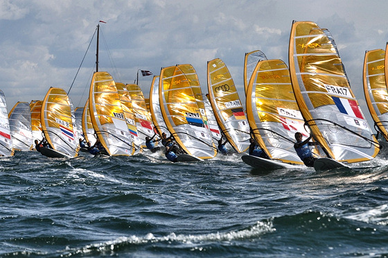 RS:X Windsurfing: sails of gold