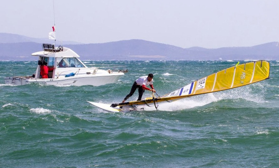 RS:X Windsurfing: still battling for gold in Rio 2016