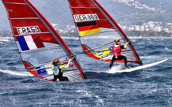 RS:X windsurfing: Olympic style