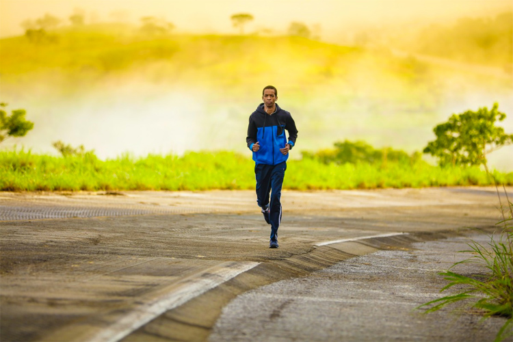 Running: a great way to burn calories | Photo: Creative Commons