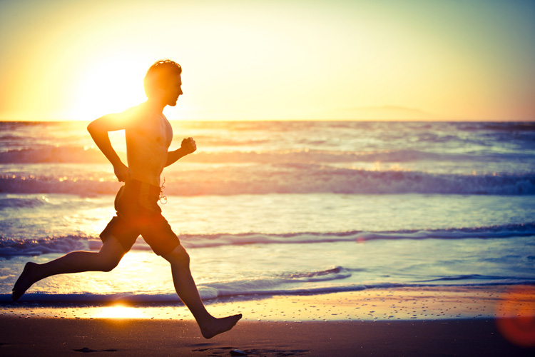 Running: one of the best workouts for surfers | Photo: Shutterstock