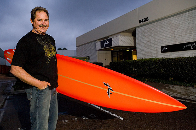 Rusty Preisendorfer: shaping surfboards since 1969 | Photo: The Boardroom