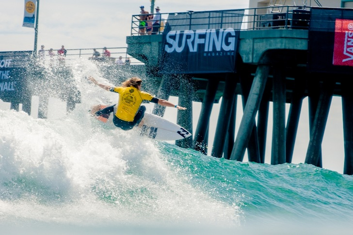 Ryan Callinan: goofy speed | Photo: Michael Lallande/US Open of Surfing