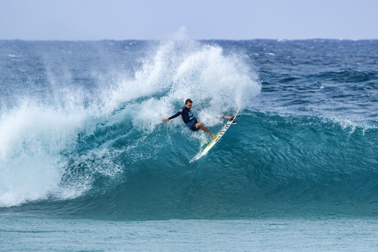 Ryan Callinan: the winner of the 2018 Pipe Invitational | Photo: Cestari/WSL