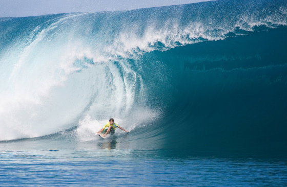 One of the Palm Beach boys, acclaimed big wave charger Ryan Hipwood