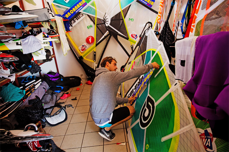 Windsurfing sails: build your quiver based on rational decisions | Photo: Carter/PWA