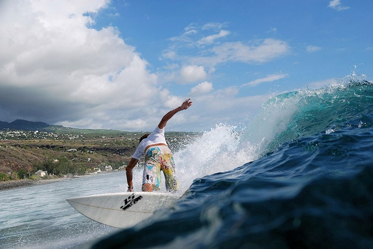Saint-Leu: the capital of surfing in Reunion Island